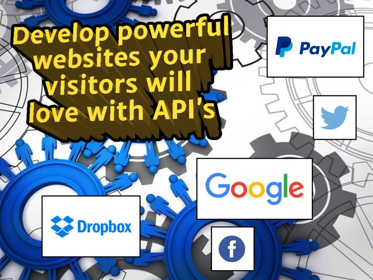 develop with api for powerful web application features
