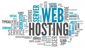 Web Hosting Word Cluster