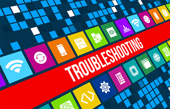 troubleshoot hosting