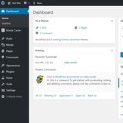 WordPress dashboard screenshot