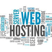 Web Hosting word cloud